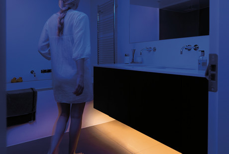 Motion-Activated Bed And Closet Lights