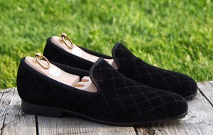 Handcrafted Velvet Loafers From London