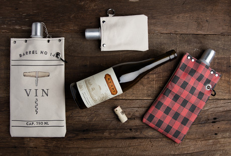 Canvas Wrapped Flasks