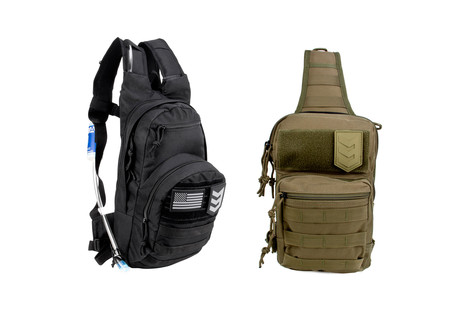 Day Packs + Hydration Packs