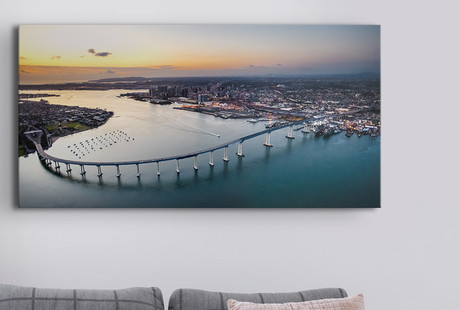 Aerial Canvas Photography