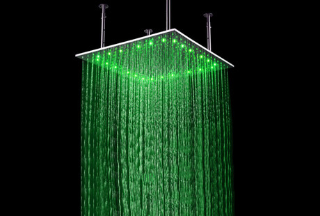 LED Shower Heads & Faucets