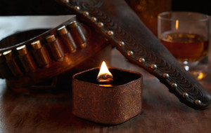Rustic + Masculine Candles