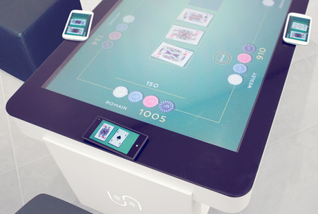 Touch-Screen Coffee Tables
