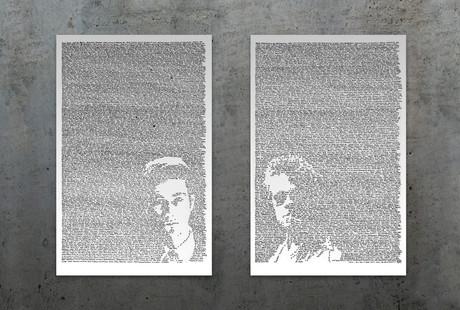 Line by Line Fan Art Portraits