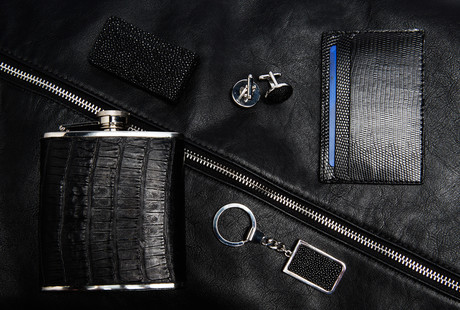 Exotic + Handcrafted Leather Goods