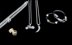Accessories In Leather and Stainless Steel