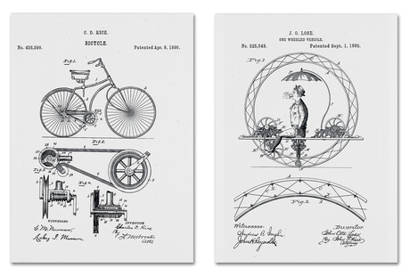 Patents On Canvas