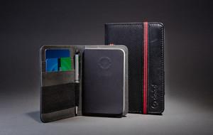 Notebook Wallet + Stylus