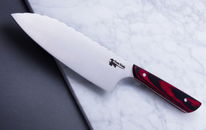 High-Carbon and Stainless Steel Kitchen Knives