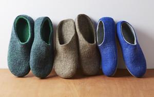 Custom-Made Felt Slippers