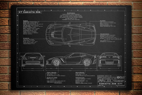 Car Design Blueprints