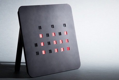 Binary LED Wall & Desk Clocks