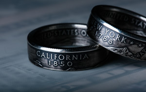 Cruger Coin Rings