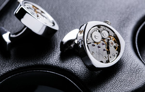 Cufflinks With Moving Parts