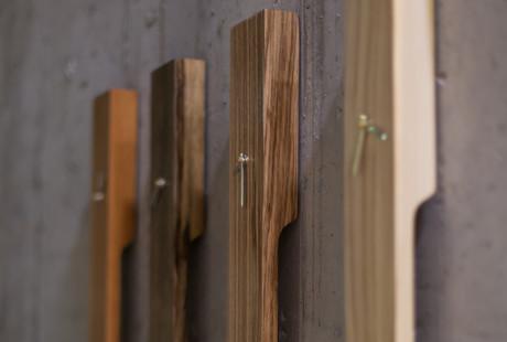 Minimalist Wooden Pendulum Clocks