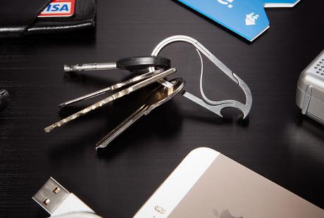 Titanium Key Carabiners