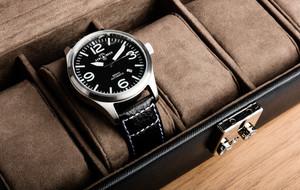Sleek Watch + Cufflink Storage