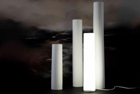 Bone China Pillar Lights