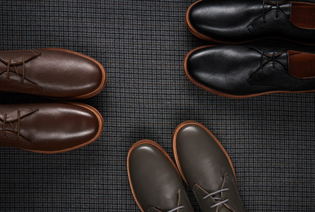 Dapper Leather Shoes