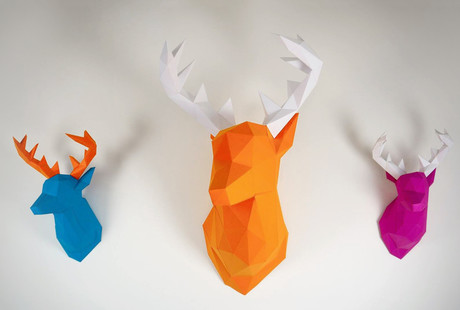 Paper Taxidermy