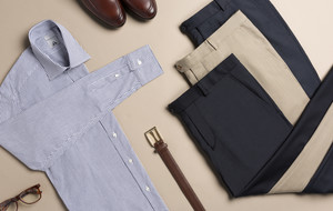 Essential Dress Shirts + Trousers
