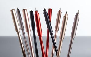 Minimalist Pens + Pencils