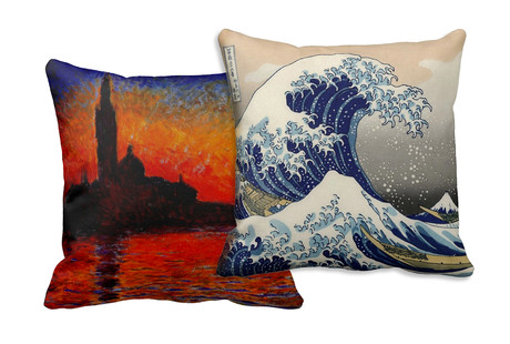 Classic Art On Pillows