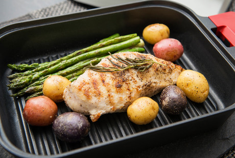 Healthy Steam Grilling