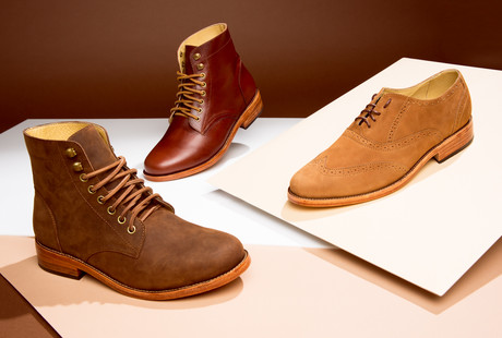 Handmade Leather Chukkas + More