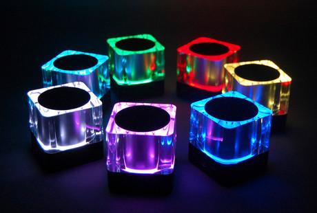 Lightcube Bluetooth speaker