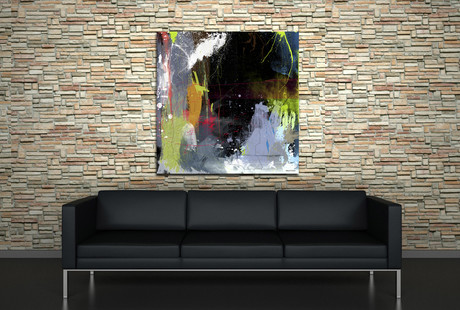 Contemporary Art On Canvas