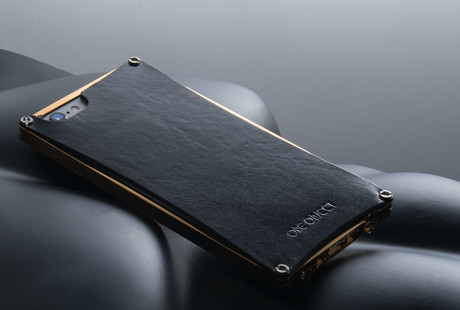 Leather & Metal iPhone Cases