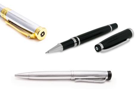 Rollerball + Ballpoint Pens