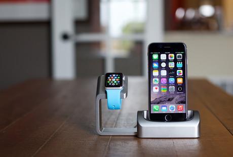 The iPhone + Apple Watch Charging Hub