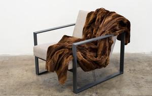 Synthetic Fur Throws + Pillows