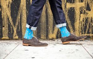 Conversation-Starting Socks