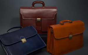 Leather Briefcases + Bags