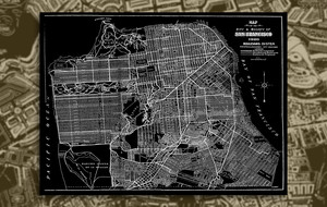 Timeless Map Art For the Home