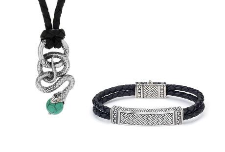 Sterling Silver Men's Jewelry