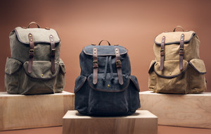 Premium Leather + Canvas Bags