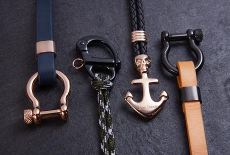 Leather + Nylon Bracelets