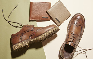 Luxe Italian Leather Shoes + Wallets