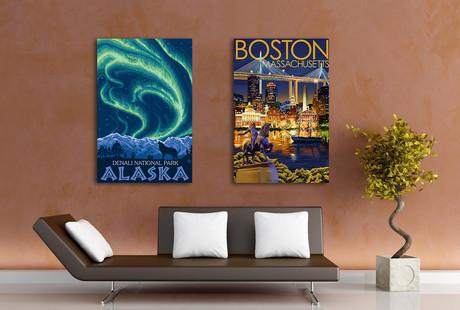 Canvas Travel Prints