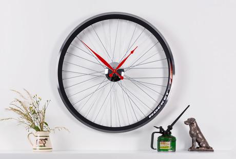 Bicycle Wheel Clocks