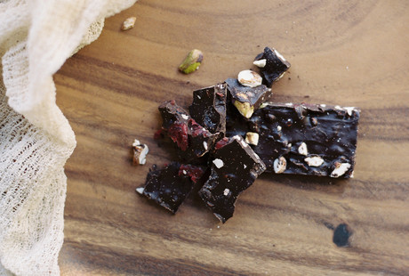 High-Protein Chocolate Bark