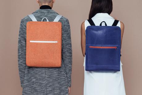 Felt + Microsuede Backpacks & Bags