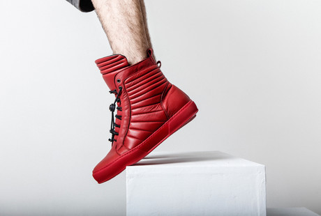 Refined Italian Leather Sneakers