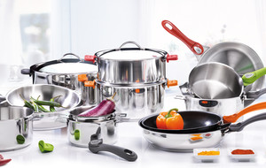 Removable Handle Pots and Pans