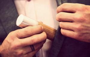 Wooden Flasks & Cigar Holders